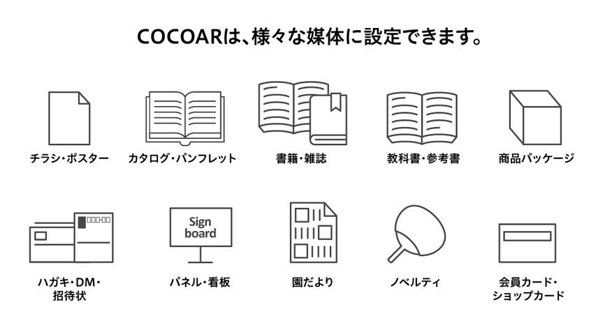 COCOAR(ココアル)_設定