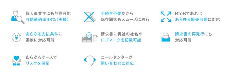 NP掛け払い_柔軟な対応