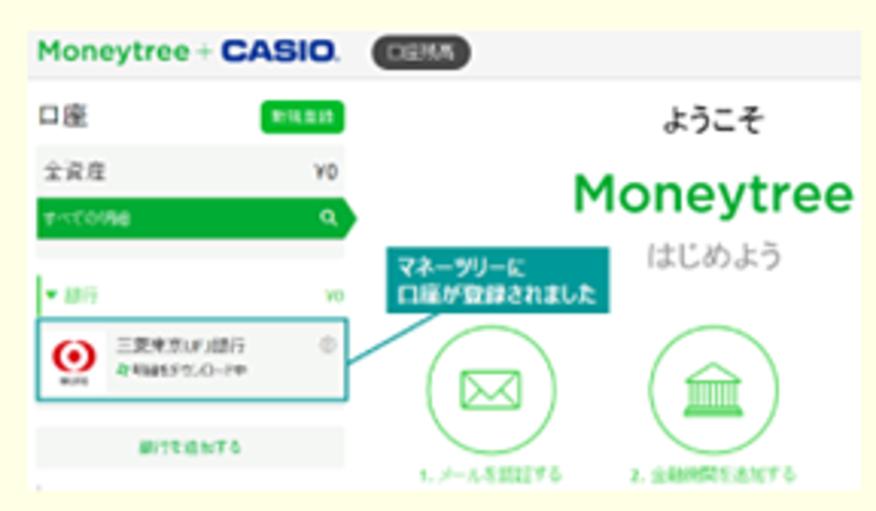 銀行口座・クレジットカード連携