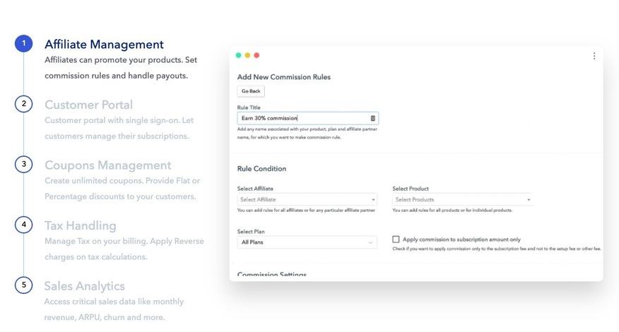 Pabblyサブスクリプションの請求をユニークにする主な機能